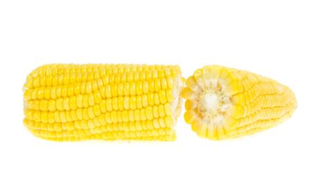 An ear of corn isolated on a white 版權商用圖片 - 119746013
