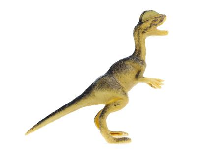 Dinosaurs  on white Reklamní fotografie