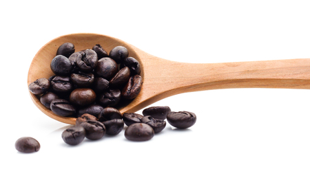 Coffee Bean with white