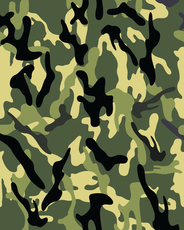 commando: Camouflage pattern, seamless vector wallpaper