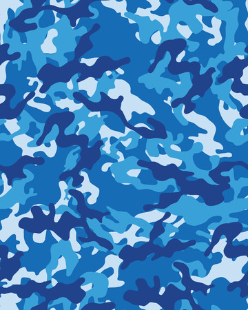 Modieus camouflage patroon, vector illustration.Millatry afdruk Stock Illustratie