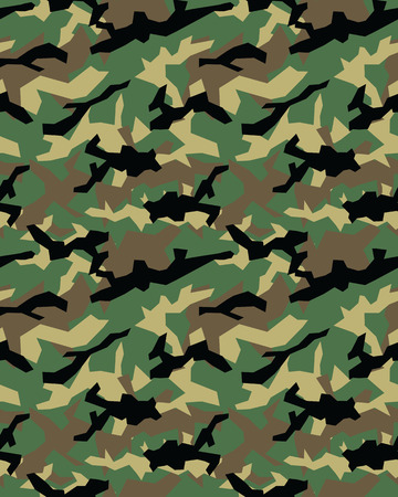 survive: Fashionable camouflage pattern, military print .Seamless illustration, wallpaper Illustration