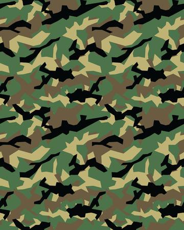 Fashionable camouflage pattern, military print .Seamless illustration, wallpaper Vettoriali
