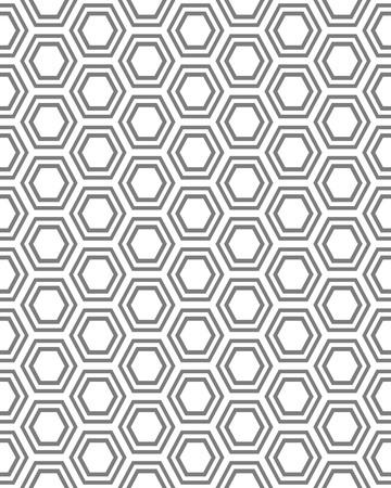 dark fiber: Honeycomb seamless pattern, vector illustration