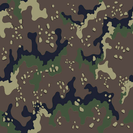 Fashionable camouflage pattern, military print .Seamless illustration Zdjęcie Seryjne - 157773743