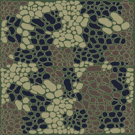 Fashionable camouflage pattern, military print .Seamless illustration Zdjęcie Seryjne - 157773744
