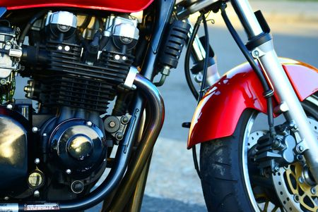 Motor bike engine Stock Photo - 2632296