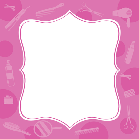 hair accessories: Hair Salon Equipments Border,Hairdressing, Beauty, Hair Shop, Accessories, Objects, Icons