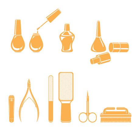 toenail: Manicure And Pedicure Equipments Set, Monochrome, Nail Salon, Beauty, Ladies Fashion, Lifestyle