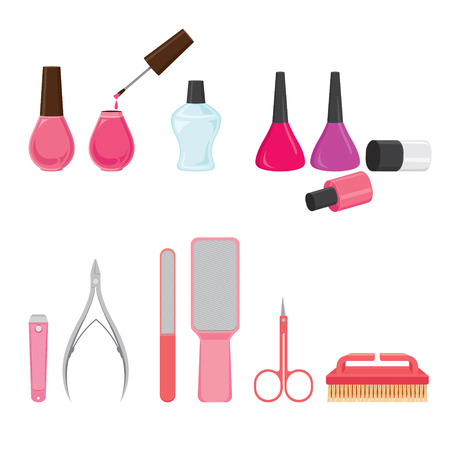 toenail: Manicure And Pedicure Equipments Set, Nail Salon, Beauty, Ladies Fashion, Lifestyle