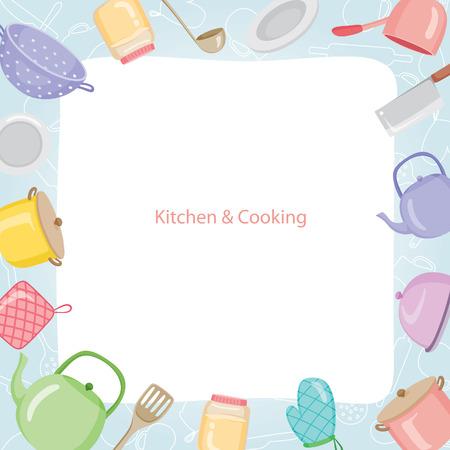 Keukenapparatuur Border, Keuken, Keukengerei, servies, koken, eten, Bakkerij, Lifestyle