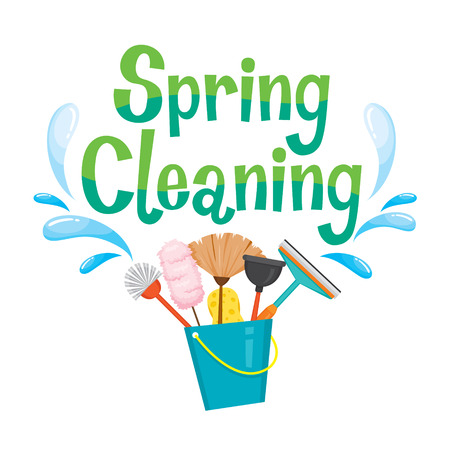 equipment: Spring Cleaning Letter Decorating And Cleaning Equipment, Housework, Appliance, Domestic Tools, Computer Icon, Cleaning, Symbol, Icon Set, Spring Season