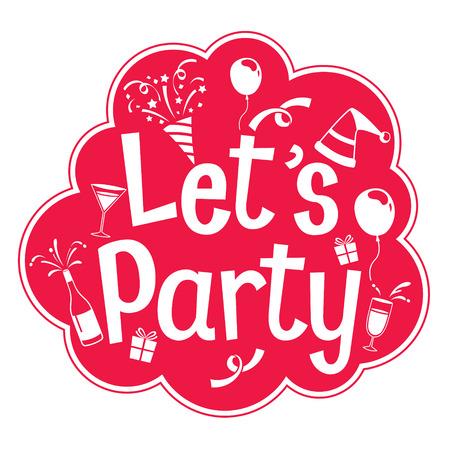 feast: Party Letter Sign, Monochrome, Calligraphy, Letter, Party, Banquet, Feast, Celebration