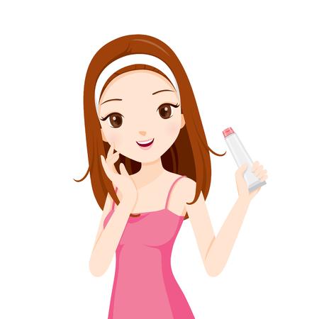 cintillos: Embalaje niña de la celebración de la belleza, facial, la belleza, la piel, cosméticos, maquillaje, salud, estilo de vida, moda