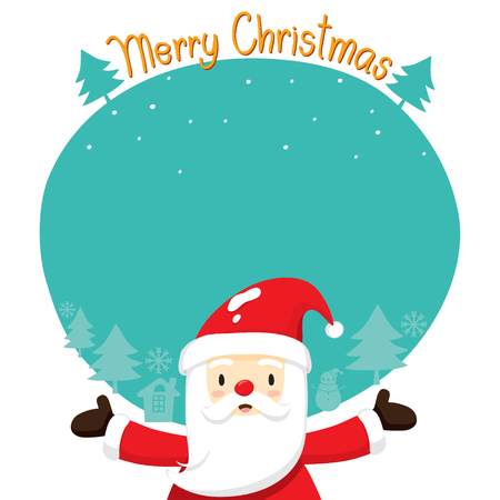 christmas objects: Santa Claus On Silhouette Background, Merry Christmas, Xmas, Happy New Year, Objects, Animals, Festive, Celebrations