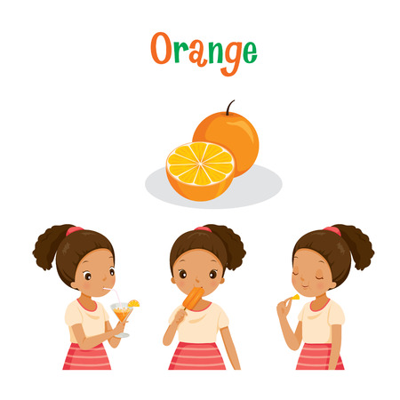orange juice: Girl With Orange Fruit, Juice, Ice Cream And Letters, Tropical Fruits, Summer, Healthy Eating, Food, Juice