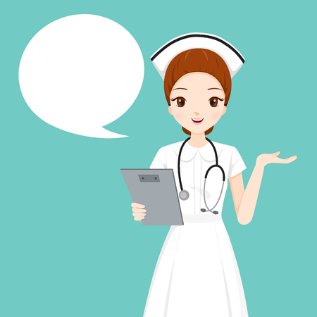Nurse Holding Clipboard Talking, Physician, Hospital, Checkup, Patient, Healthy, Treatment, Personnel