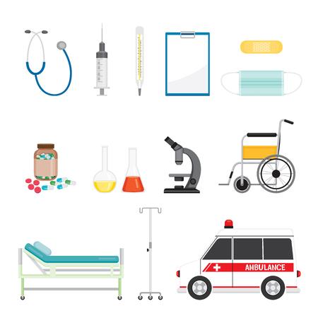 medical equipment: Medical Equipment Icons Set, Medical, Appliance, Tool, Hospital