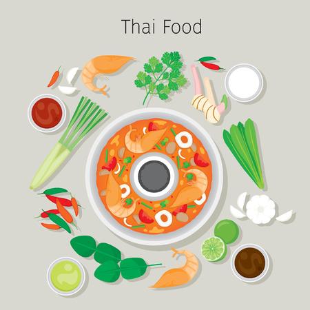Tom Yum Kung And Ingredients, Cookery, Eating, Food, Seasoning