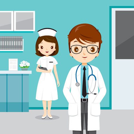 physician: Doctor And Nurse, People Occupation, Physician, Hospital, Checkup, Patient, Healthy, Treatment, Personnel