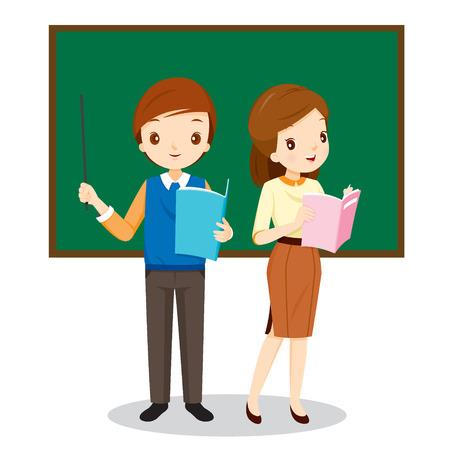 classroom supplies: Teachers Standing In Classroom, Occupation, Profession, Back to school, Book, Children, School Supplies