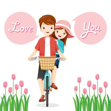 wedding love: Man And Woman On Bicycle Together, Valentine's Day, Love, Relationship, Sweetheart, Engagement, Wedding
