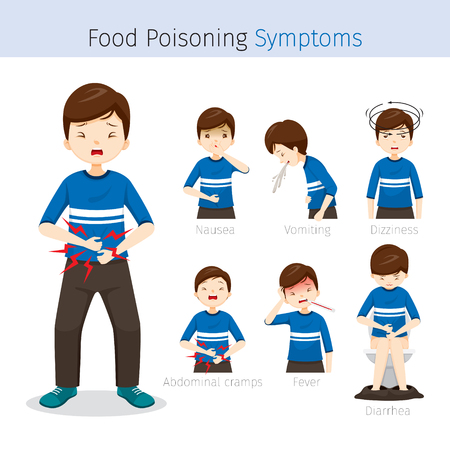Man With Food Poisoning Symptoms, Stomach, Internal Organs, Body, Physical, Sickness, Anatomy, Health