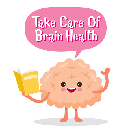 Brain, Human Internal Organ, Cartoon Character, Physiology, Structure, Medical Profession, Morphology, Healthy