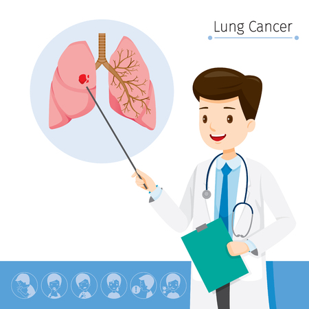 Doctor Describes About Cause To Lung Cancer, Physiology, Sickness, Medical Profession, Morphology, Body, Organs, Health