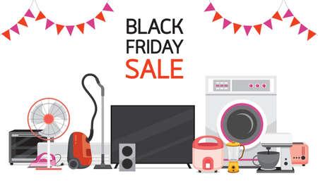 Electrical Appliances Black Friday Sale, Celebration, Festival, Events
