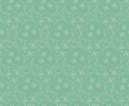 celadon:  floral ornament celadon