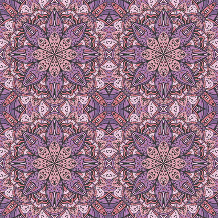 oriental rug: Seamless symmetric pattern. oriental rug. ornament for fabric. patterned tiles.