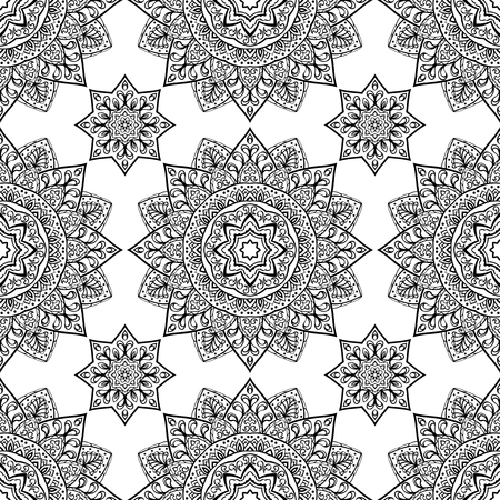 filigree: Filigree ethnic vector ornament.