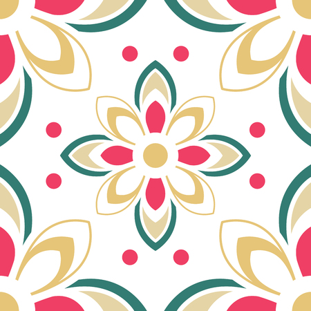 flooring: Abstract colorful ornament. Template for carpet, cover, textile, linen,  tile, wallpaper and any surface. Seamless vector pattern.