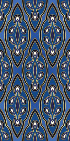 동양 파란색 장식입니다. 카펫, 섬유, 벽지 및 표면에 대 한 템플릿입니다.