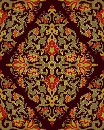 Ornamental pattern with filigree details.