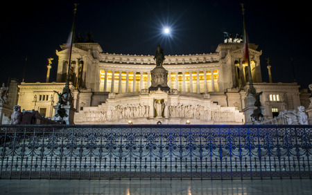 unified: Monument built in honor of Victor Emmanuel II, the first king of a unified Italy, located in Rome, Italy.
