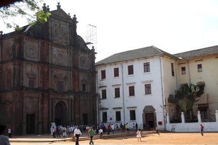 Basilica of Bom Jesus, Goa, India