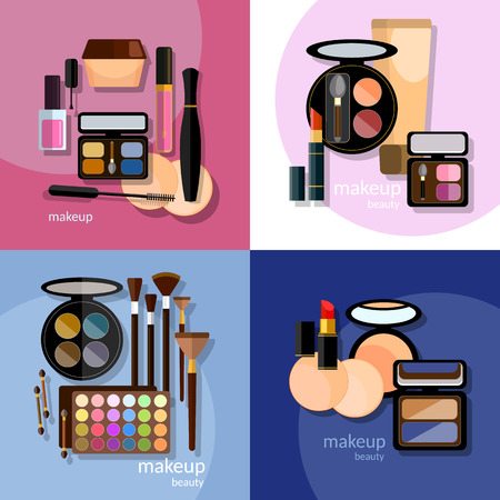 eye liner: Make-up cosmetic cosmetology nail polish eye shadow lip liner lipstick proffesional makeup collection mascara fashion makeover vector icons
