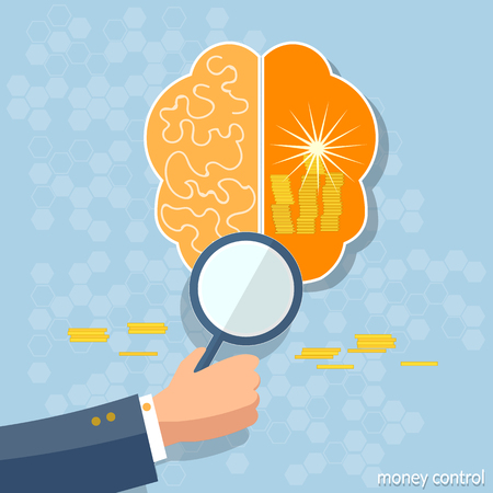 investment ideas: Business concept ideas make money brain investment finance solution startup investments dollars financial planning vector illustration