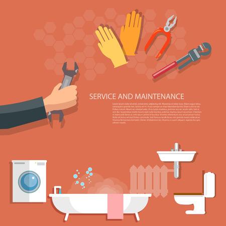 tube wrench: Plumbing service washing machine repair pipeline cleaning hand plumbing