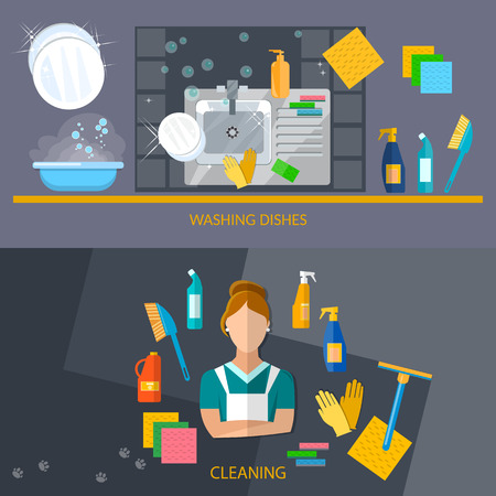 cleaning service: Cleaning service banners