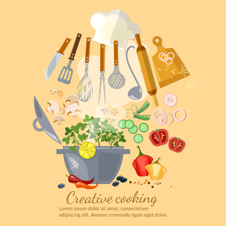 cookbook: Creative cooking collection cookbook