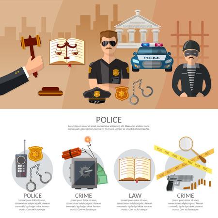 jurisprudencia: sistema de justicia y el castigo del crimen infografía juez de la causa penal en la ilustración vectorial de tenis