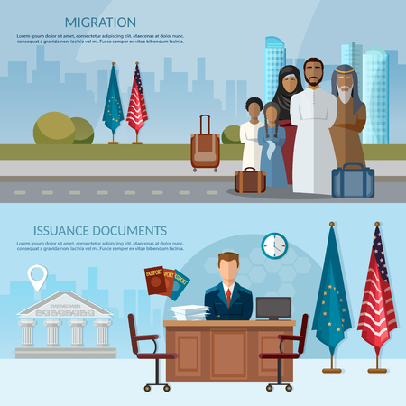 Issuance of papers in USA and Europe issue of requirements & passports
