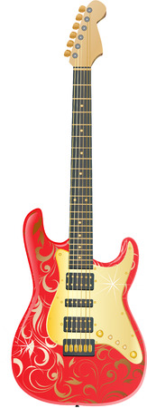 electric guitars: Guitar  Illustration