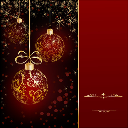 christmas background Stock Vector - 7922190