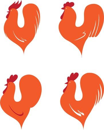 cockscomb: Set of cocks