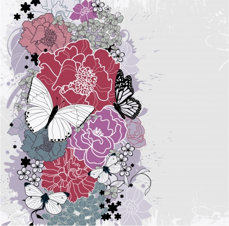 floral background Stock Vector - 13746514