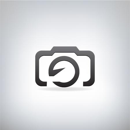 stylized photo camera Illustration